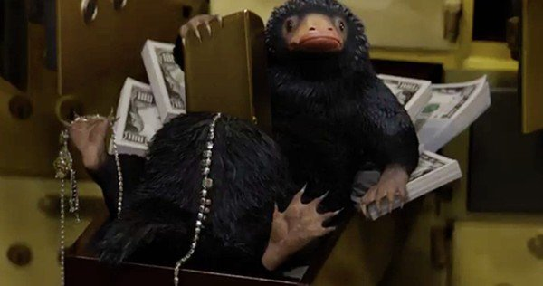 Le Niffleur les Animaux Fantastiques niffler fantastic beasts and where to find them