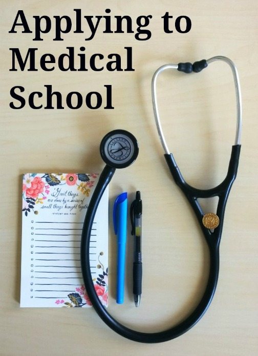 Tips for applying to medical school