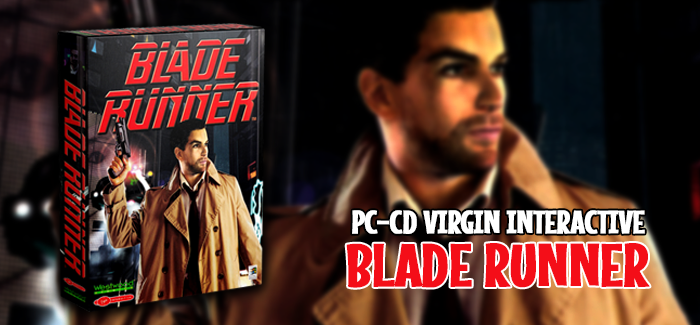 Blade Runner PC CD Virgin Interactive 1997