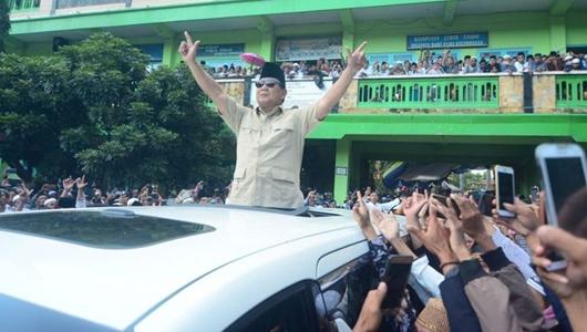 Prabowo: Sehari Setelah Terpilih, Saya Akan Jemput Habib Rizieq Pakai Pesawat Pribadi