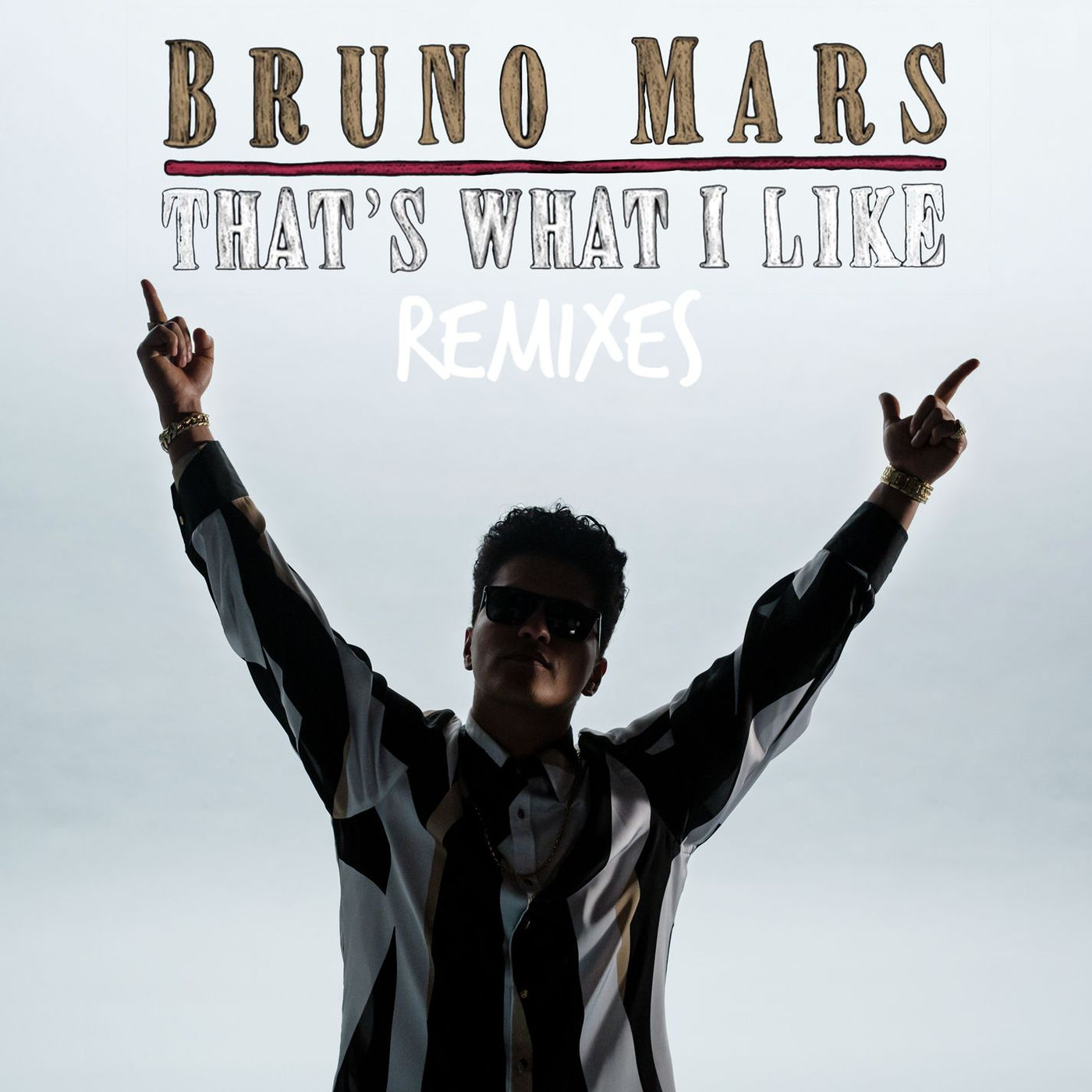Bruno Mars - That's What I Like (PARTYNEXTDOOR Remix) - Single Cover