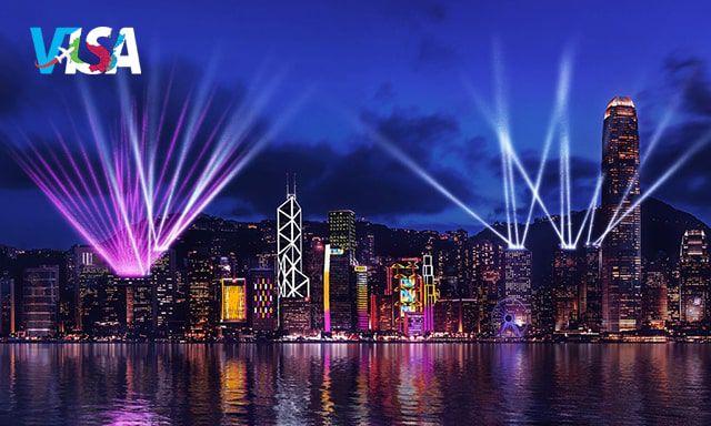 cảng victoria khi đi du lịch Hong Kong