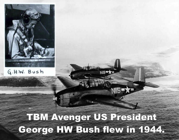 Image result for george hw bush in 1944