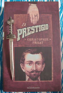Portada del libro El prestigio, de Christopher Priest