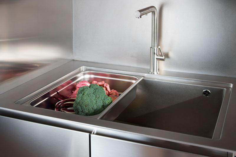 cucina zona lavaggio