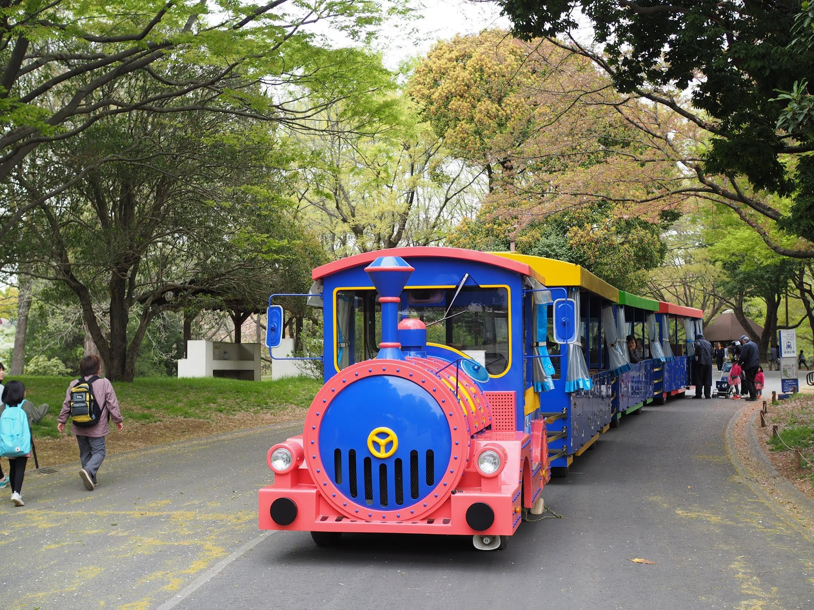 Train at Showa Kinen Park