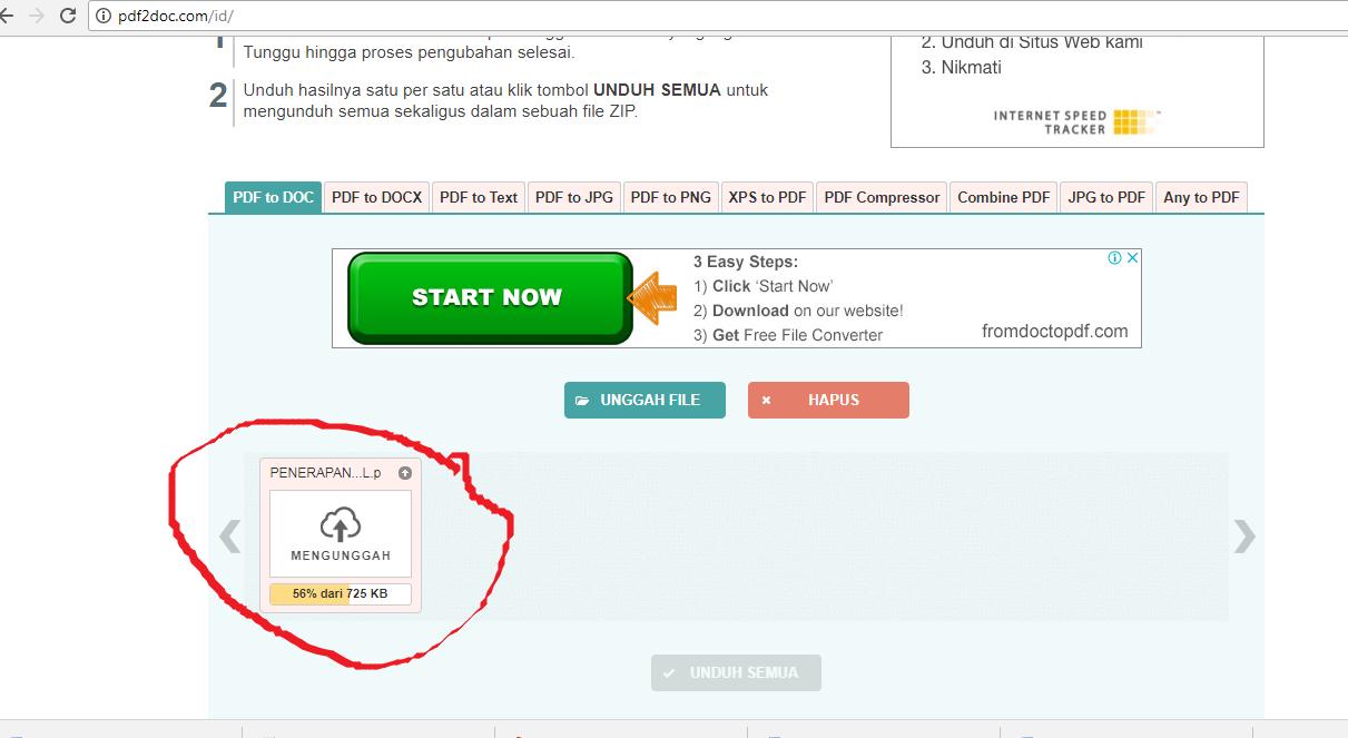 D4t4 Kul14h Cara Mengubah File Pdf Ke Word Secara Online