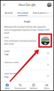 Cara Mengganti Foto Profil Gmail di HP Android 7