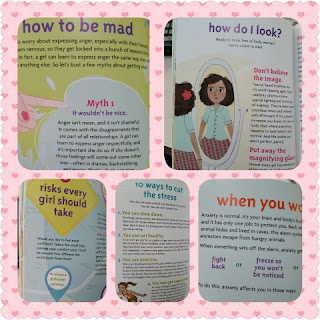 A Smart Girl's Guide to Worry collage