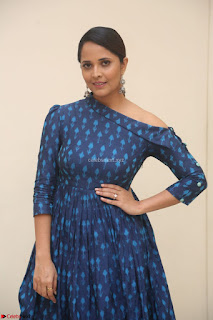 Anchor Anasuya in a Blue Gown at Jai Lava Kusa Trailer Launch ~  Exclusive Celebrities Galleries 041.JPG