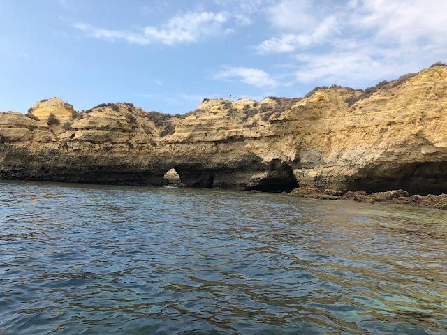 benagil cave travel portugal