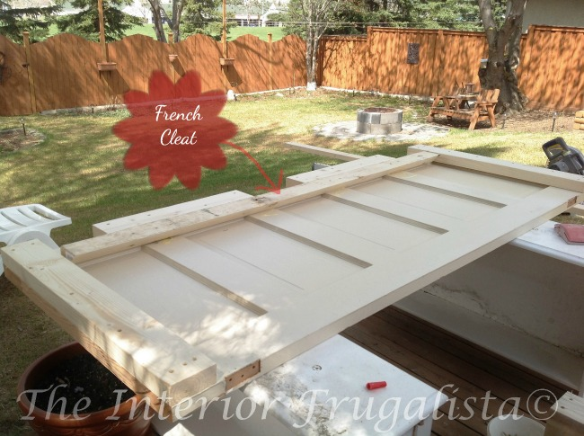 How to repurpose a vintage 5-panel door into a gorgeous farmhouse-style headboard with mantel ledge. Includes a detailed tutorial on how to build it.