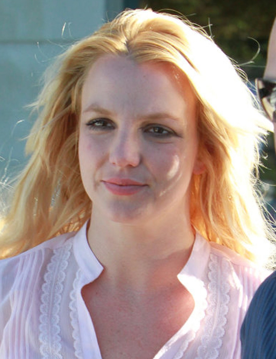 Britney Spears Without Makeup Fashion And Style