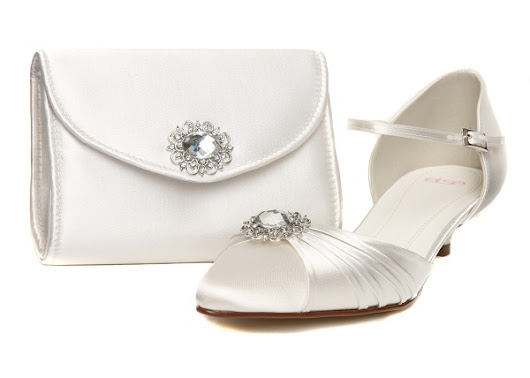 Search For UK Kitten Bridal Heels + Matching Bag