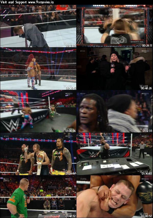 WWE Monday Night Raw 28 Dec 2015 HDTV 480p