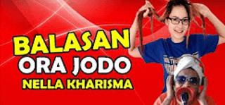 Lirik Lagu Balasan Ora Jodo - Nella Kharisma