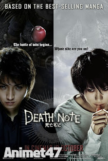 Death Note Live Action - Phim Death Note 2013 Poster