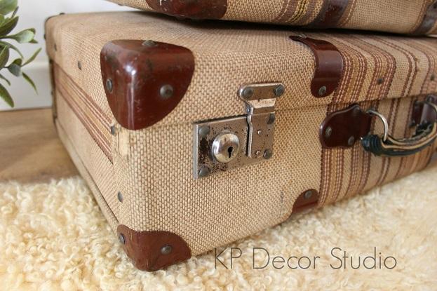 Comprar maletas antiguas para decorar