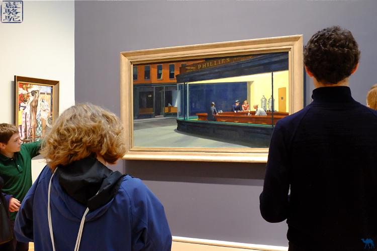 Le Chameau Bleu - Séjour à Chicago- Musée à visiter Oeuvre de Hopper