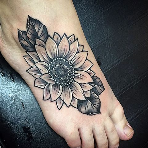 Sunflower Tattoo