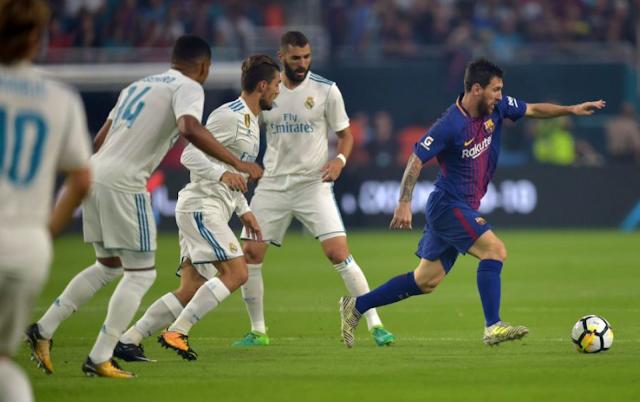 Barcelona derrotó 3-2 al Real Madrid en El Clásico de Miami