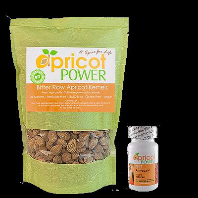 Order apricot seeds & B17