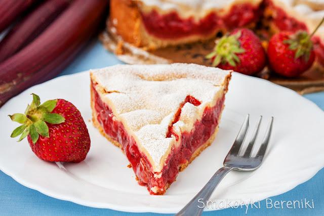 Krucha tarta z owocami
