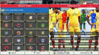 FTS 18 Mod Sriwijaya FC by Reksi
