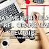 Syarat Menulis Ulang Artikel Orang Lain Untuk Blog Pribadi, Rewrite