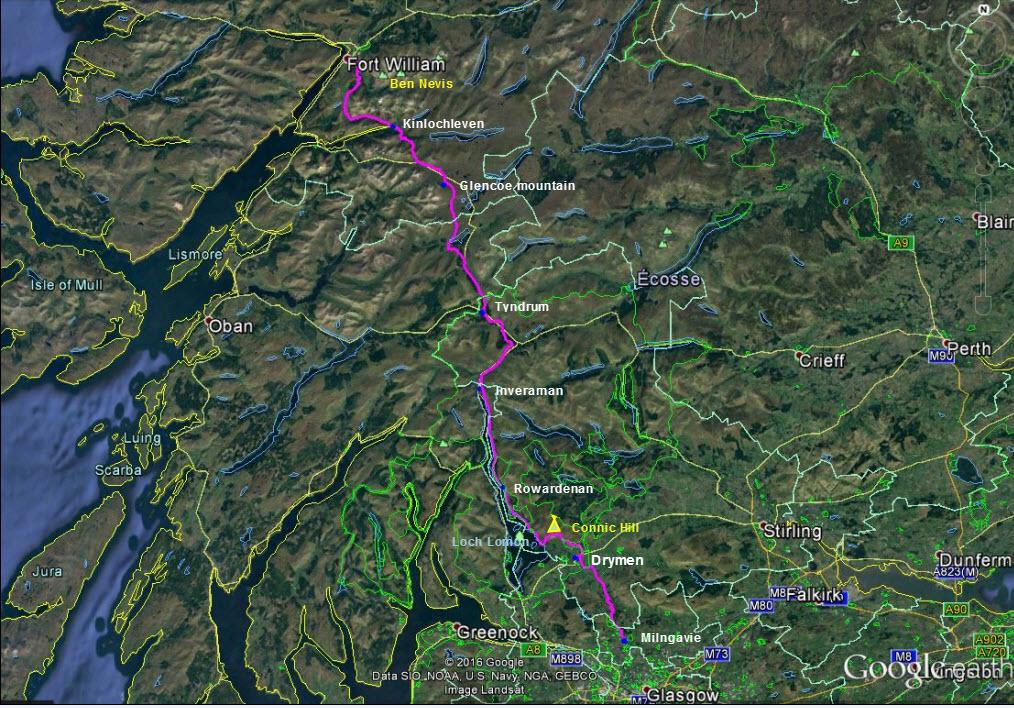 Berenbalblog  Le West Highland Way En Ecosse