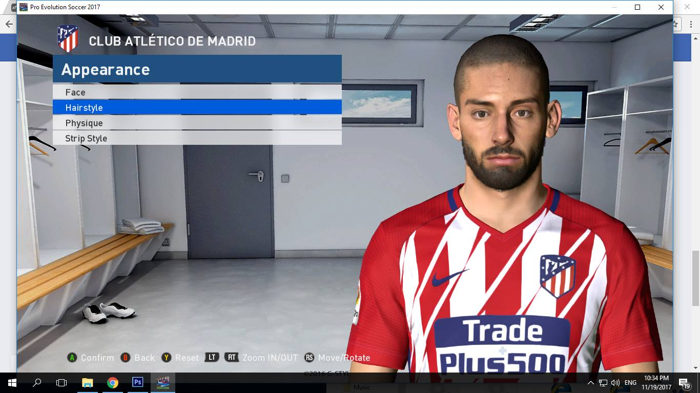 PES 2017 F. Carrasco Face by Shenawy