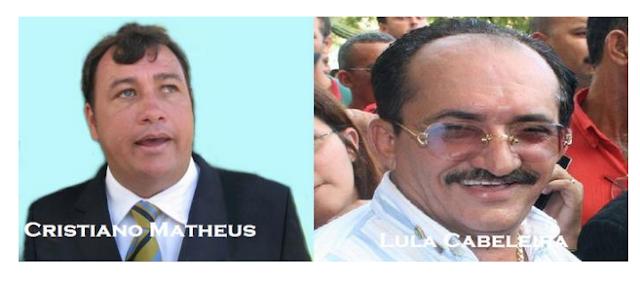 Cristiano Matheus e Lula Cabeleira são apostas do PMDB para a Assembleia em 2018