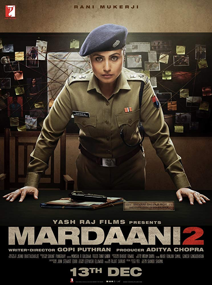 Mardaani 2 2019 Hindi Movie 480p pDVDRip 600MB Download