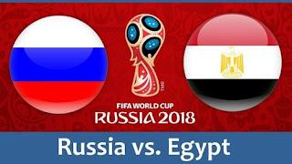 مشاهدة مباراة مصر ضد روسيا , رابط يلا شوت بث مباشر مصر وروسيا كاس العالم 2018 بتاريخ 19-6-2018