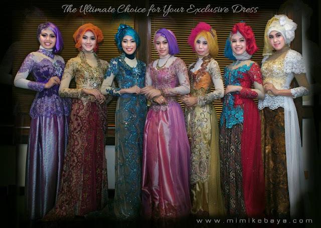 model kebaya muslim modern untuk wisuda
