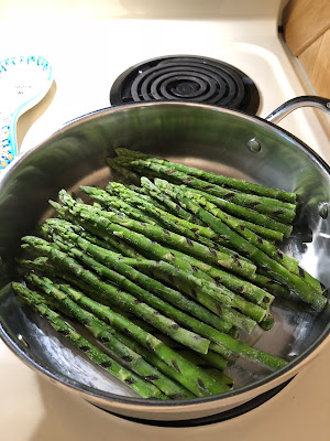 grilled asparagus healthy vegetable vegetarian
