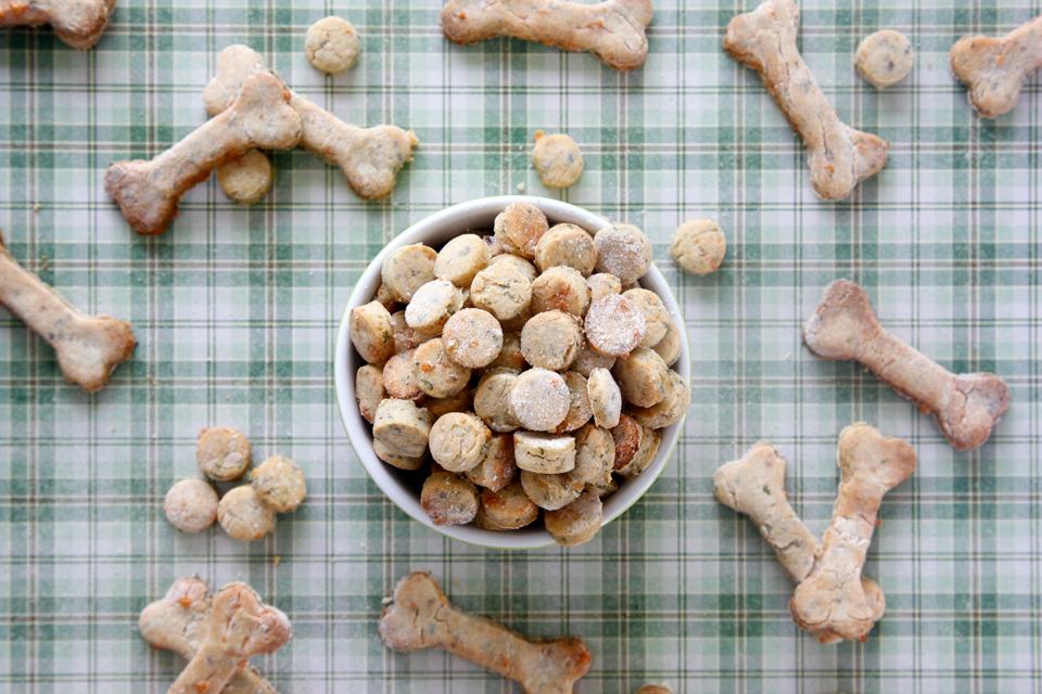 homemade chicken dog treats recipe