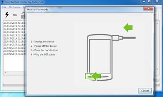 Preparing files for flashing
