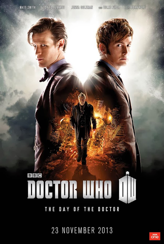 Doctor Who Day of the Doctor TV poster