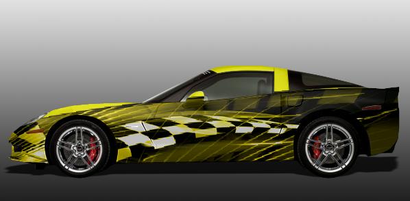 car wrap corvette - photo #30