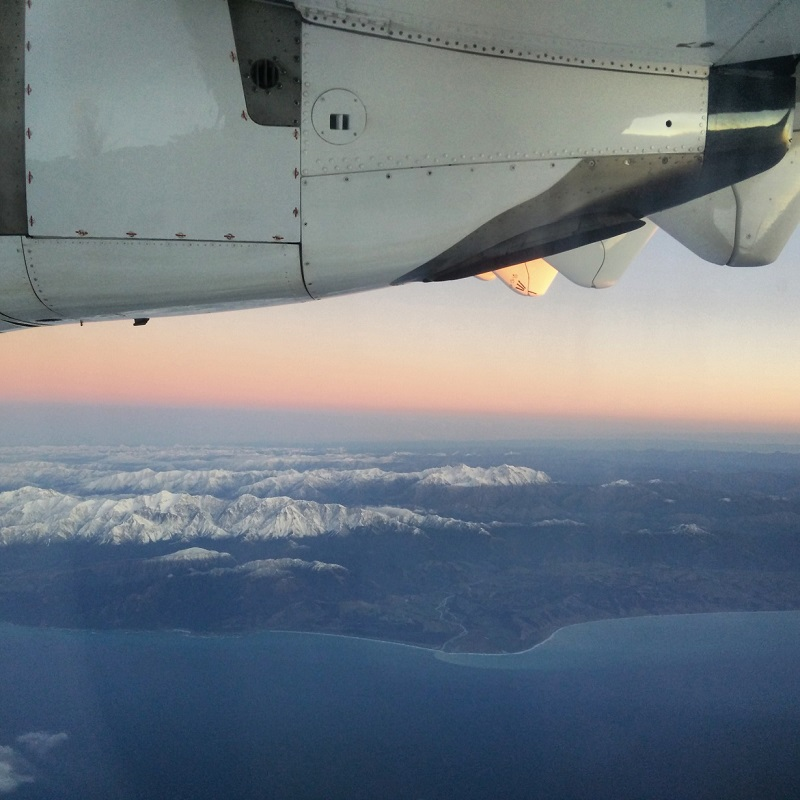 NZ from the sky