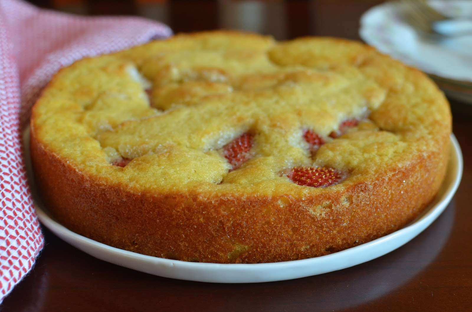 Strawberry Buttermilk Cake Smitten Kitchen