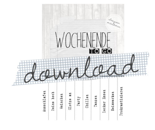 Download Wochenende ToGo