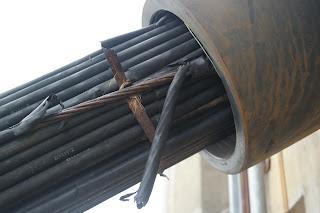 kabel berkarat