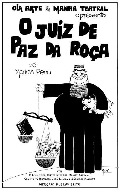 O Juiz de Paz da Roça - Luís Carlos Martins Pena