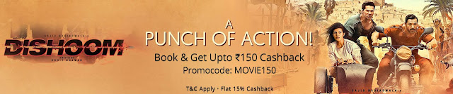 Paytm MOVIE150 Promo Code