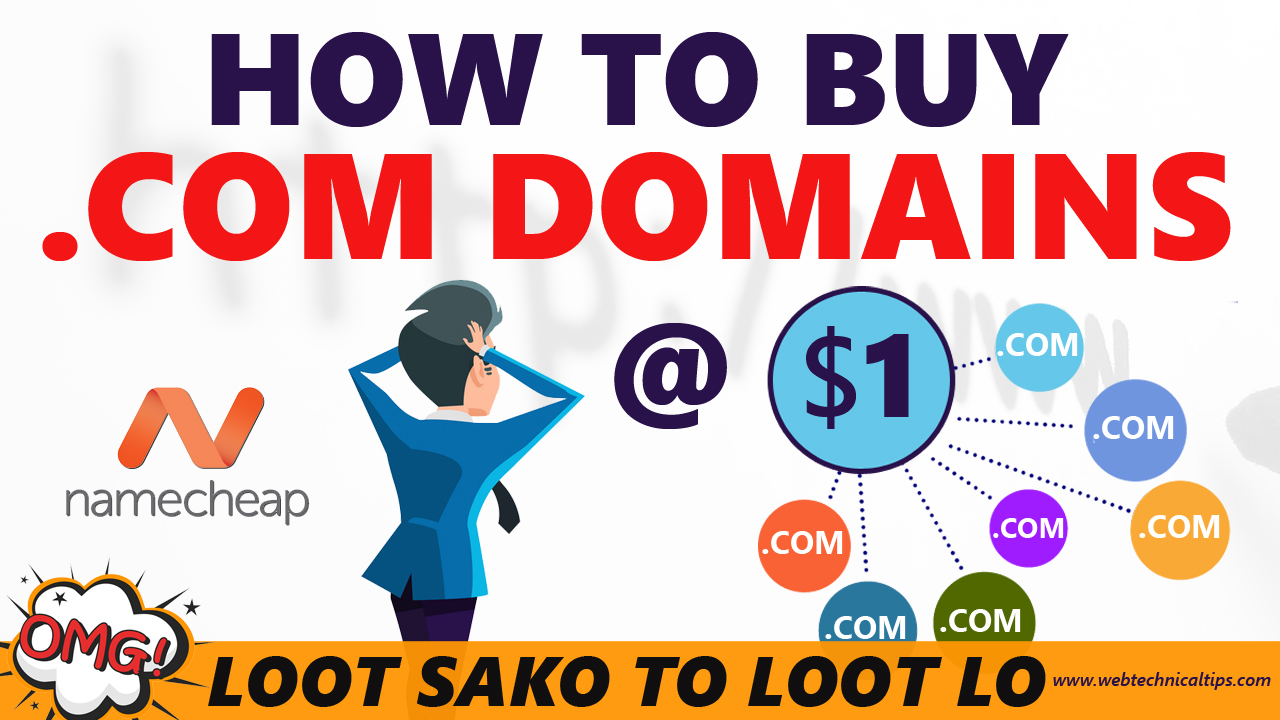 .com domain at lowest price