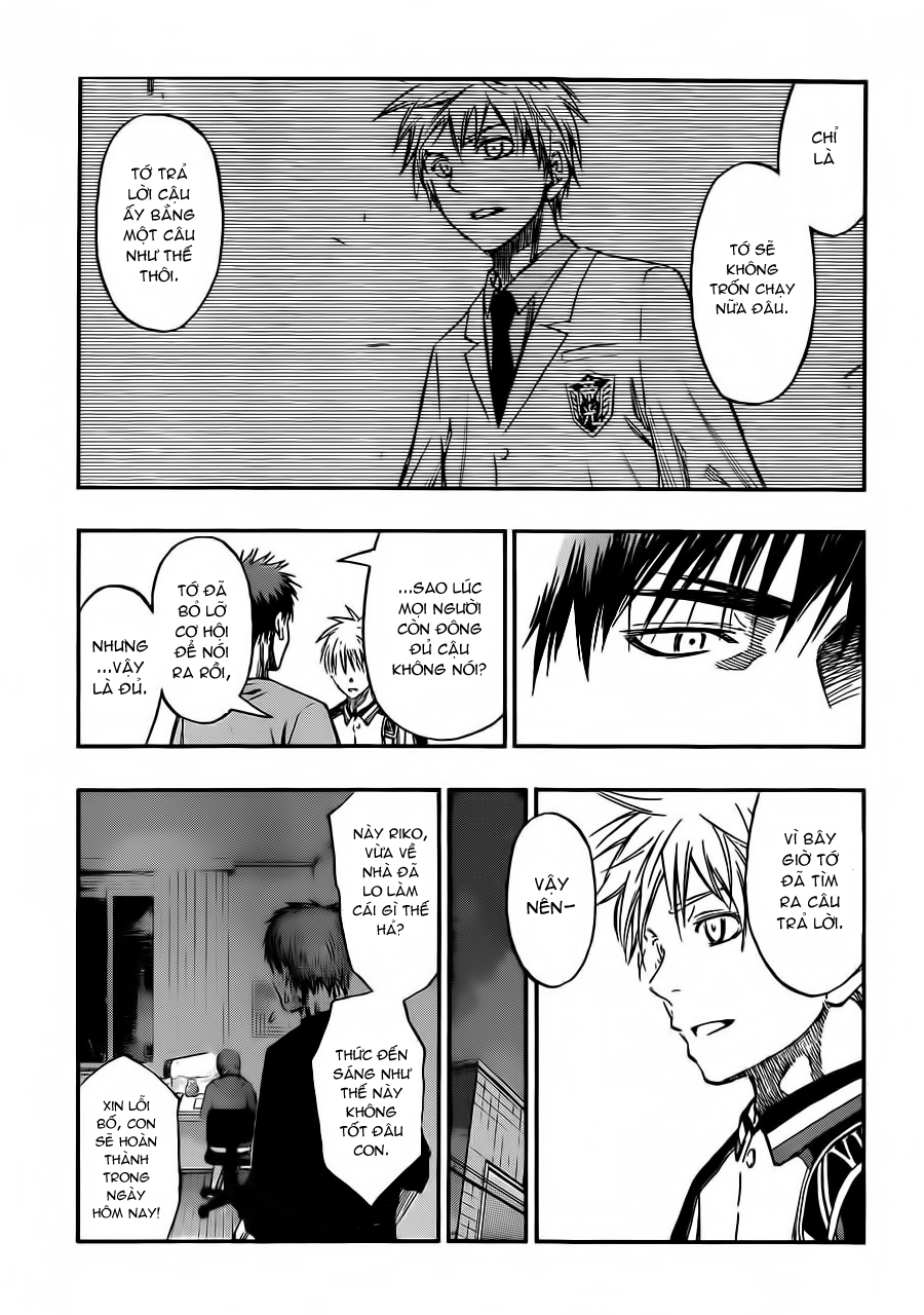 Kuroko No Basket chap 228 trang 17