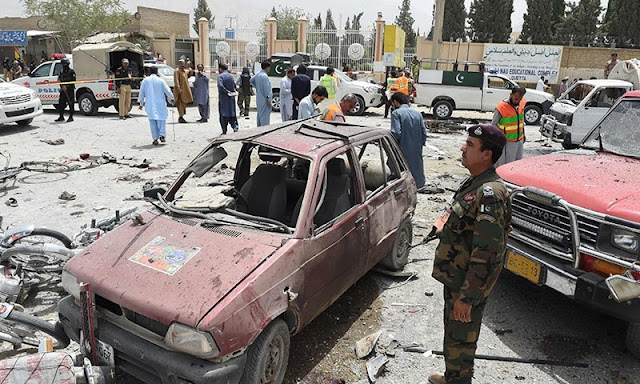 31 Martyred in Quetta as Bomber Targets Polling Station