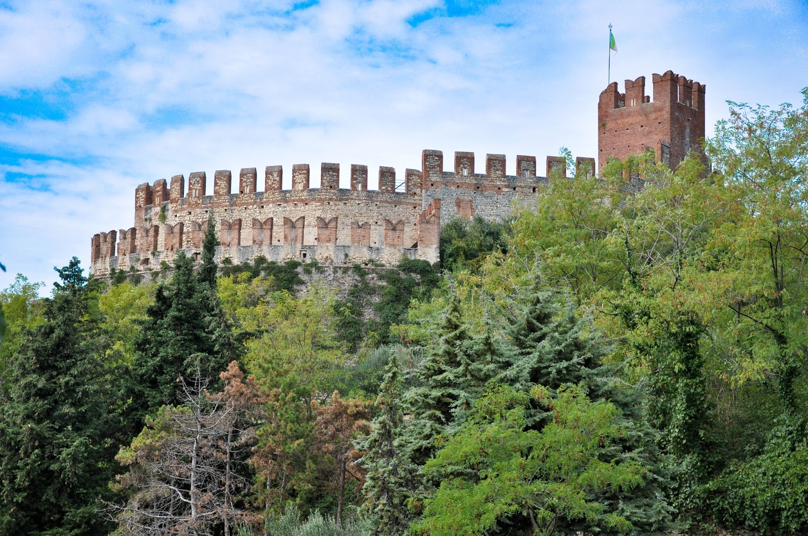 Soave Castle, Soave, Veneto, Italy